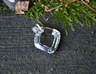 Cosmic square ring Crystal CAL